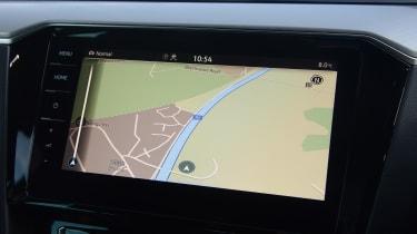 Volkswagen Passat GTE infotainment