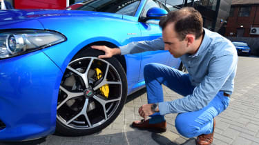 Long-term test review: Alfa Romeo Giulia Veloce - inspection
