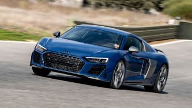 Audi R8 - front track
