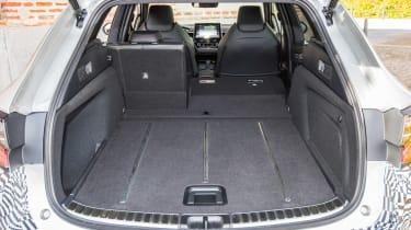 Toyota Corolla Touring Sports prototype - boot