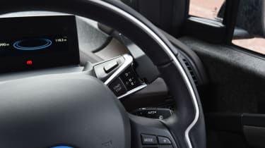 BMW i3s in-depth review - steering wheel