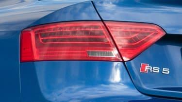 Audi RS5 badge