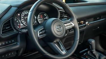 Mazda CX-30 - steering wheel