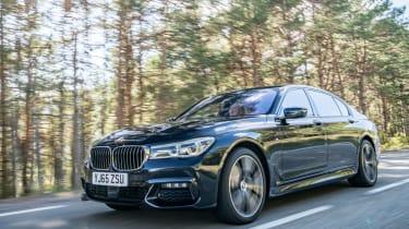 BMW 740Ld xDrive - front