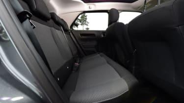 Citroen C4 Cactus - rear seats