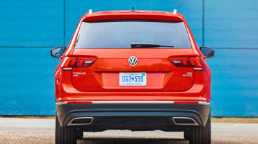 Volkswagen Tiguan Allspace - full rear static