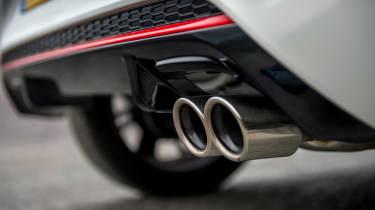 Kia Picanto GT Line - exhaust