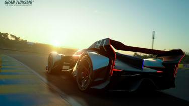 McLaren Ultimate Vision Gran Turismo - rear