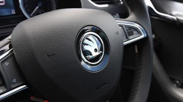Skoda Octavia Estate - steering wheel