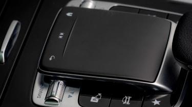 Mercedes A-Class - control pad