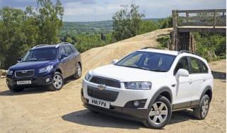 Chevrolet Captiva vs Hyundai Sante Fe