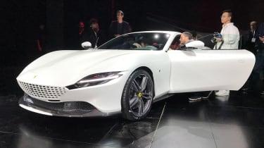 Ferrari Roma - reveal white front