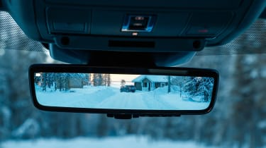 Range Rover Evoque prototype - rear view mirror