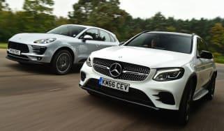 Mercedes GLC 43 vs Porsche Macan S - header 3