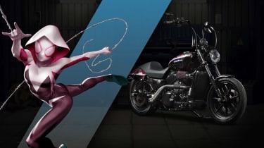 Harley Davidson Marvel Super Hero Customs - Spider Gwen Vigilance