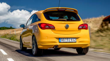 Vauxhall Corsa GSi - rear
