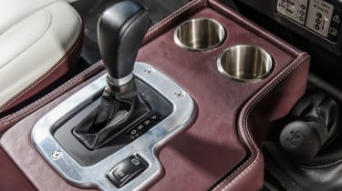 Land Rover Defender Zulu gearstick