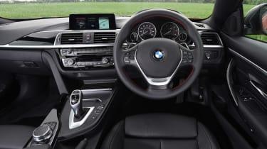 BMW 4 Series - dash