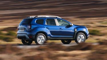 Dacia Duser 4x4 - rear action