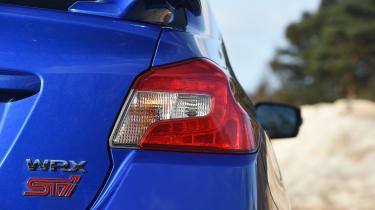 Subaru WRX STi Final Edition - tail-light