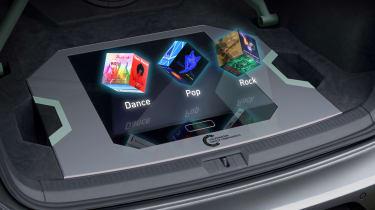 VW Golf GTI Aurora - hologram