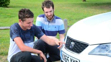 SEAT Ibiza long-term - final report front detail