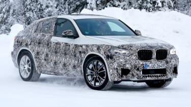 BMW X4 M front quarter