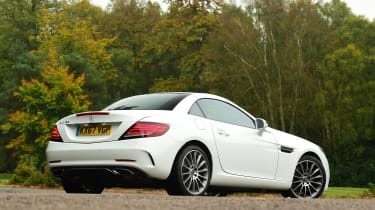 Mercedes SLC 180 - rear static