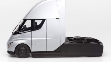 Tesla Semi Truck model - side