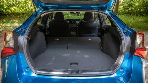 Toyota Prius boot - seats down