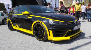500bhp Golf R at Worthersee 2016