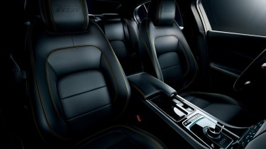 Jaguar XE and XF launched - front seats