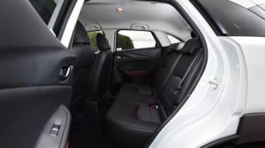 Used Mazda CX-3 - rear seats