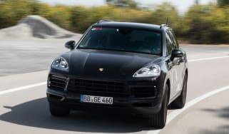 Porsche Cayenne prototype - front