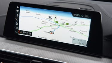 BMW 6 Series GT - sat-nav