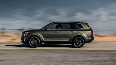 Kia Telluride - side shot