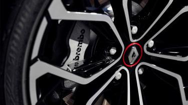Renault Megane R.S. - wheel detail