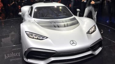 Mercedes-AMG Project One - Frankfurt front