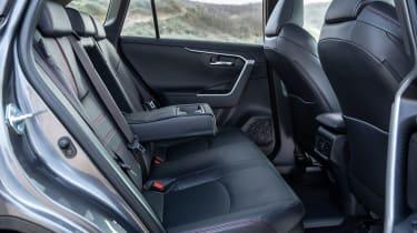 Toyota RAV4 plug-in hybrid - rear seats
