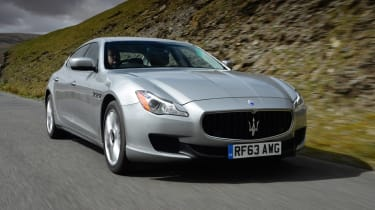 Maserati Quattroporte 2014 front action