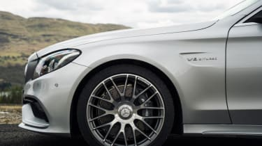 Mercedes C63 AMG saloon - wheel