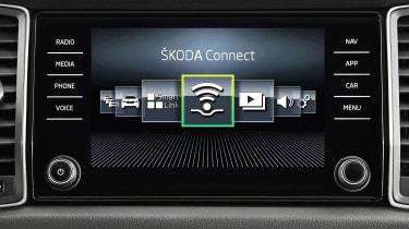 Skoda Kodiaq 1.4 TSI - infotainment