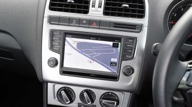 Volkswagen Polo - infotainment screen