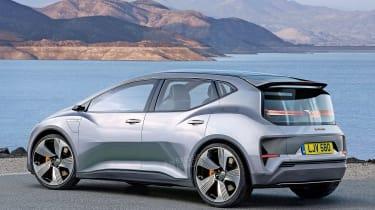Audi e-tron compact hatch - rear