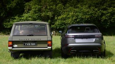 Range Rover Velar vs Range Rover Velar - full rear