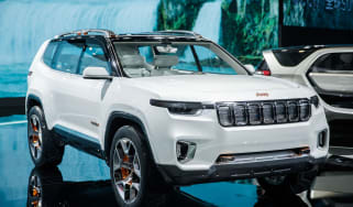 Jeep Yuntu concept - front