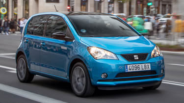 SEAT Mii Electric - front tracking