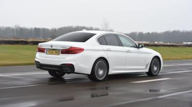 BMW 5 Series 520d xDrive 2017 - rear tracking