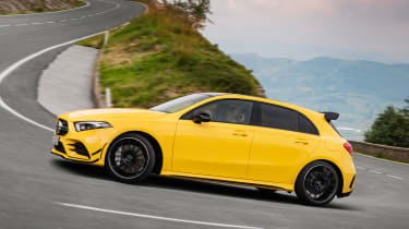 Mercedes-AMG A 35 - side cornering