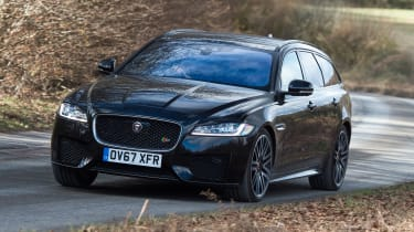 Jaguar XF Sportbrake 3.0 diesel S - front action